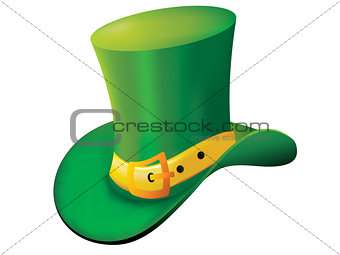 abstract st patrick hat