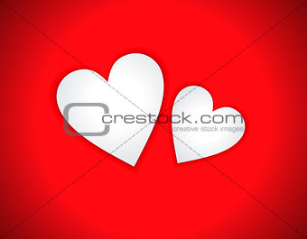 abstract love heart