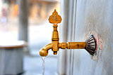 Date of ablution tap made €‹of brass