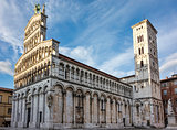 Cathedral of Saint Michele, Lucca, Italy,
