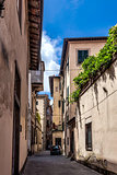 Lucca, Tuscany, Italy. Streets