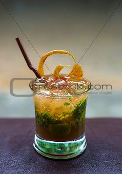 mojito alcoholic cocktail drink