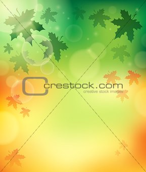 Autumn theme background 4