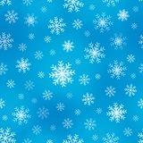 Seamless background snowflakes 1