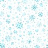 Seamless background snowflakes 3