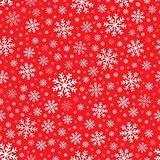 Seamless background snowflakes 4