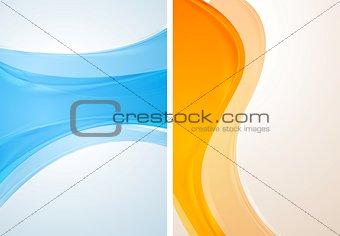 Bright vector waves design