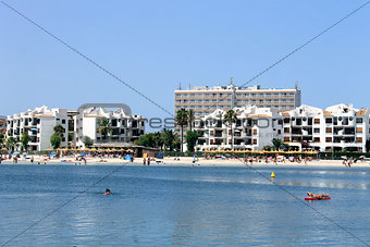 Alcudia Bay and beach