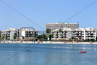 Alcudia Bay and beach