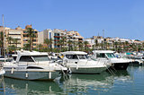 Alcudia harbor in Spain