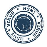 H5N1 Virus Stamp