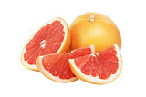 fresh ripe grapefruit