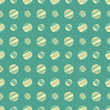 seamless pattern with colorful dots, vector illustration