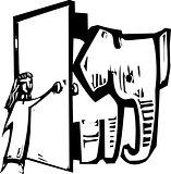 Elephant Door