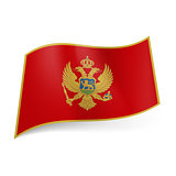 State flag of Montenegro.