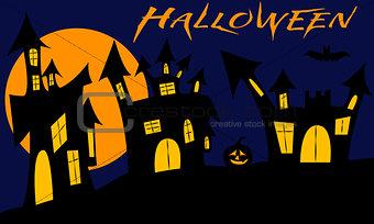 Castles on halloween