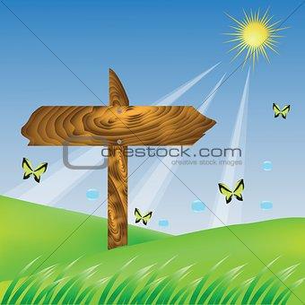 arrow desk