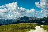 Dolomiti, panorama from Passo Rolle
