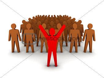 Crowd leadership.