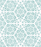 Ornate geometric wallpaper.