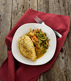 Lemon Chicken With Vegetables