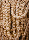 Heavy nautical linen rope
