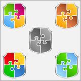 Puzzle Shields