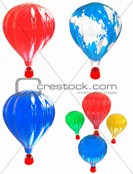 Air Balloons set