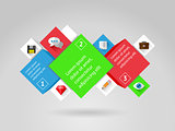 Ui, infographics and web elements. EPS10 vector illustration.