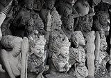 Religious stone statues. Indonesia, Bali