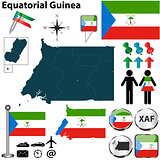 Map of Equatorial Guinea
