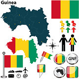 Map of Guinea