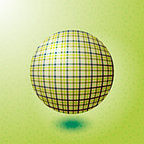 ball with the texture of fabric