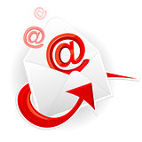 Symbol of incoming message