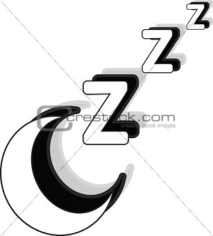 Sleeping or hibernate icon