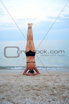 Yoga Near Sea