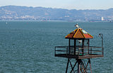 Alcatraz prison guard tower
