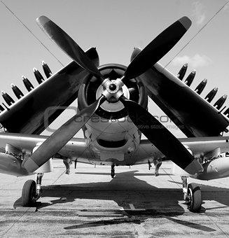 Old Navy fighter plane