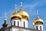 golden cupola of russian church