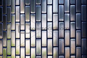 Grey mettalic decorative plate
