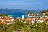 Veli Iz adriatic island view