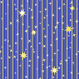 Stripy pattern with stars