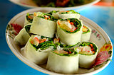 Fresh Vegetable Rice Sheet Rolls