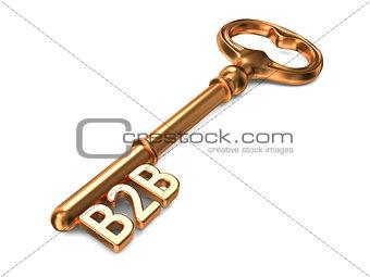 B2B - Golden Key.