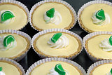 Key Lime Pie Lemon Curd Tarts