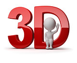 3d small people - 3d