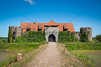 Old castle in Kiermusy