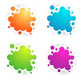 Different Colors Copyspace Designs