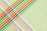 Striped dishtowel
