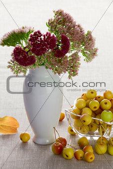 Autumnal dessert